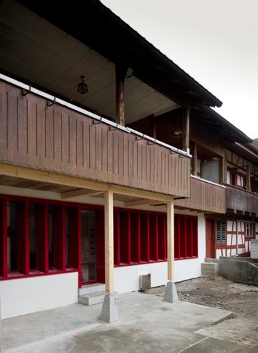 Umbau Bauernhaus Eschlikon Dinhard bei Winterthur