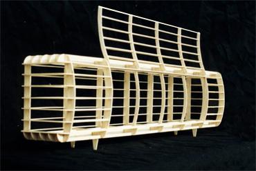 Sideboard Modell Holzgerippe nijo architekten.