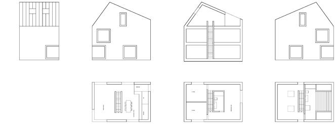Grundrisse einfach und bescheiden bauen, Nullenergie Architektur