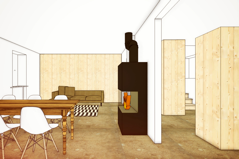 haus renovierung altbau london wird vier reihenhauser verwandelt, schöne umbauten von nijo architekten, Design ideen